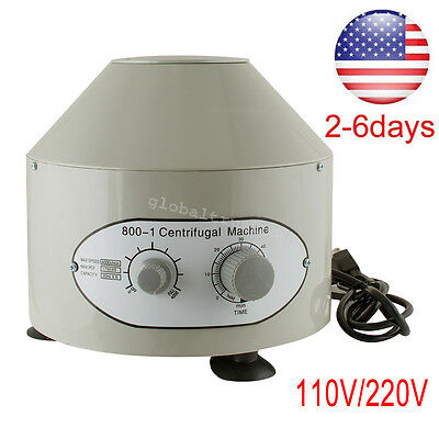 Nice 110220v Electric Solid Centrifuge Machine 4000rpm Lab Medical Practice Usa
