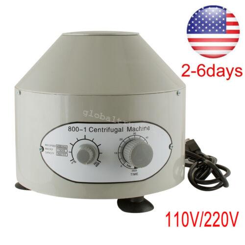 Nice 110/220V Electric Solid Centrifuge Machine 4000rpm Lab Medical Practice USA