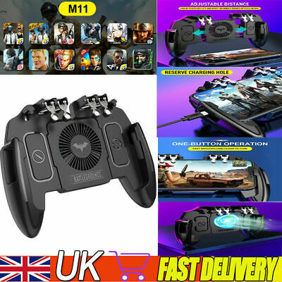For PUBG IOS Android Mobile Phone Game Controller Joystick Cooling Fan Gamepad