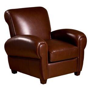 Leather Cigar Chair Ebay
