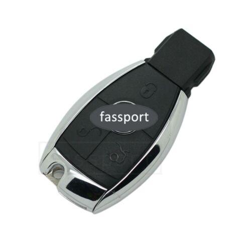 Remote Shell + Key Blank fit for Mercedes Benz E C R CL GL SL CLK SLK Case 3 BTN