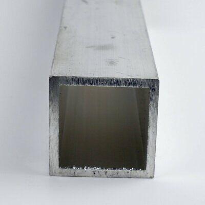 1.25 X 0.125 Aluminum Square Tube 6061-t6-extruded 72.0