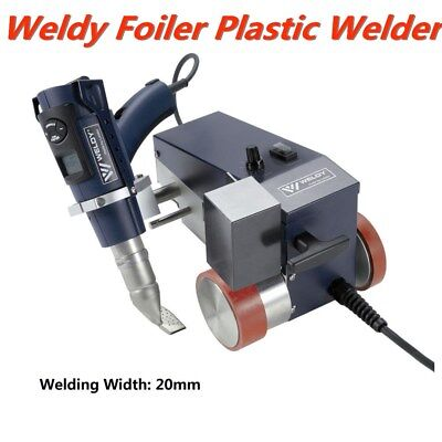 0.79 20mm Smart Hot Air Welder Leister Weldy Foiler Pvc Banner Welder