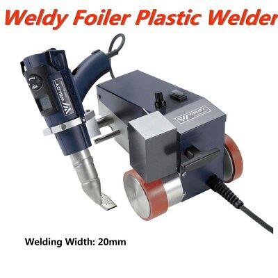 0.79'' (20mm) Smart Hot Air Welder Leister Weldy Foiler PVC Banner Welder