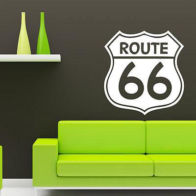119 Wand (Wandtattoo Autotattoo Route 66 Amerika HOT +119+)