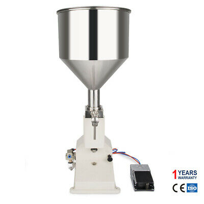 A02 Pneumatic Liquid Paste Filling Machine Bottle Filler Filling Machine 5-50ml