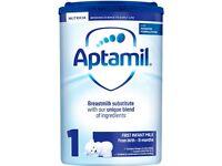 Aptamil Milk (Stage 1-4) Wholesale !!