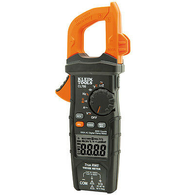 Klein Tools Cl700 Digital Clamp Meter Ac Auto-ranging 600a Trms True Rms Loz