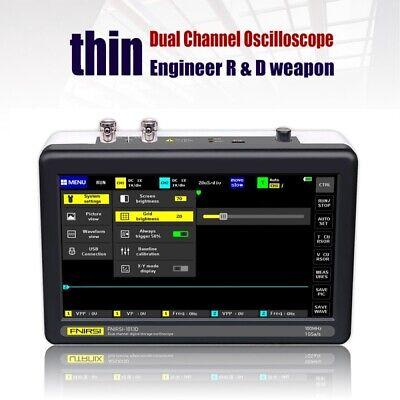 1013d Portable 2 Channels Digital Storage Oscilloscope 100mhz Bandwidth 1gsas