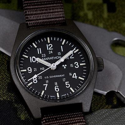 US Gov. Issue General Purpose Field Watch Marathon Swiss NEW w/ Box + Warranty