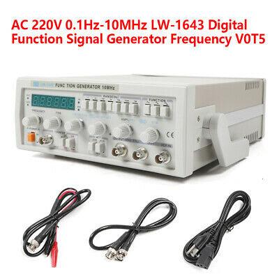Function Signal Generator Sine Triangle Square Positivenegative Pulse Wave New