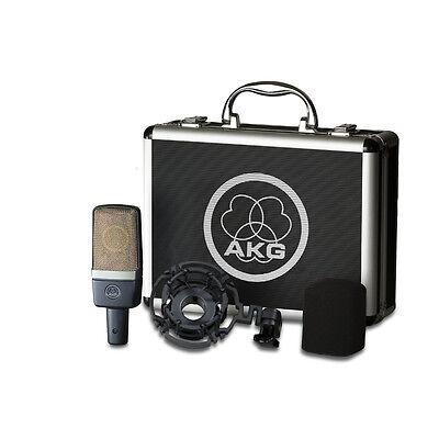 AKG C214 Professional Large-Diaphragm Studio Recording Condenser Microphone