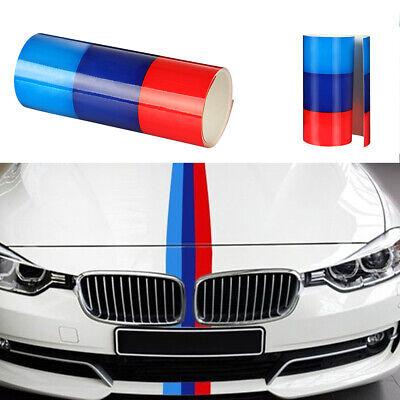 M-Colored Auto Streifen Stripe Flagge Aufkleber Sticker Motorhaube für BMW 2M