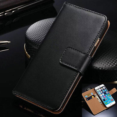 For Apple iPhone 4S 5S 5C 6 6S Plus Fashion Flip Card Wallet Phone Case