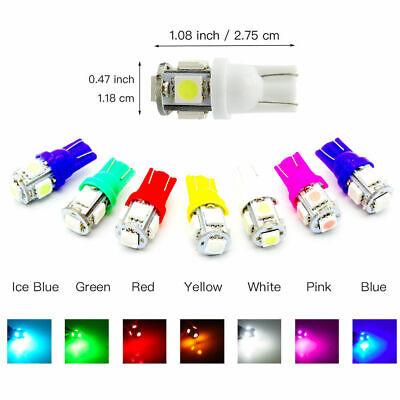 T10 LED Speedo Indicator Dashboard Dash Gauge Side Interior Bulbs