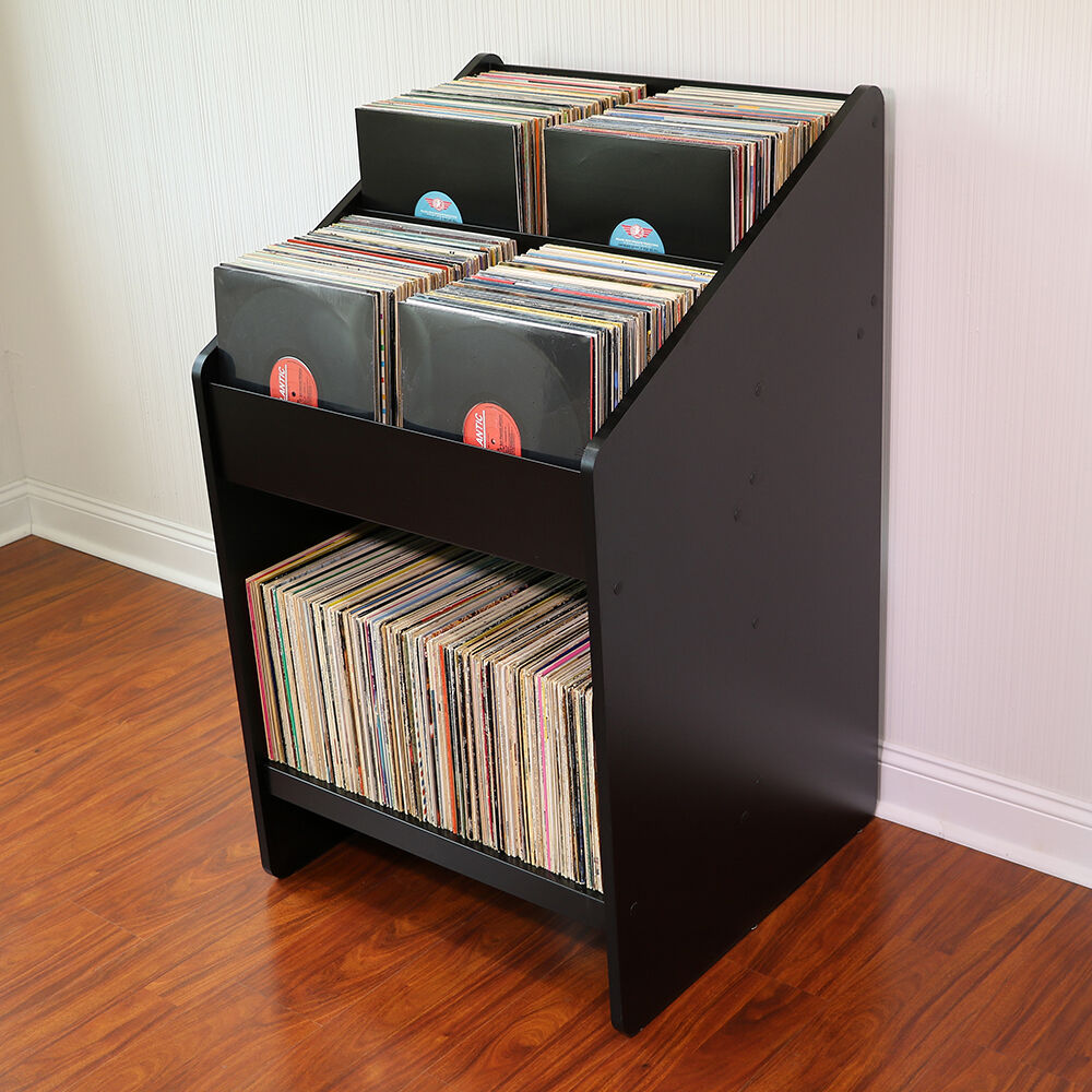 vinyl record storage furniture. LPBIN2 LP Storage Cabinet / Bin Style Vinyl Record Furniture U