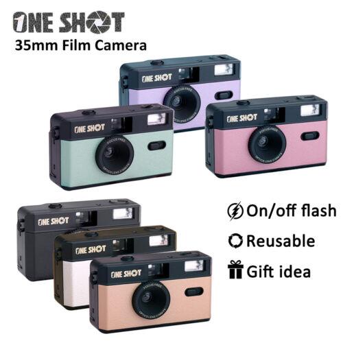 как выглядит OneShot Vintage Retro M35 35mm Reloadable Film Camera ColorPlus 200 36exp. фото