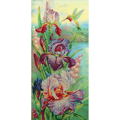 Rto Cross Stitch Kit   Harmony Of Nature Hummingbird