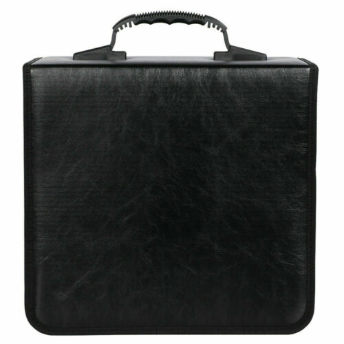 PU Leather 520 Discs CD DVD Wallet Holder Bag Case Album Organizer Media Storage