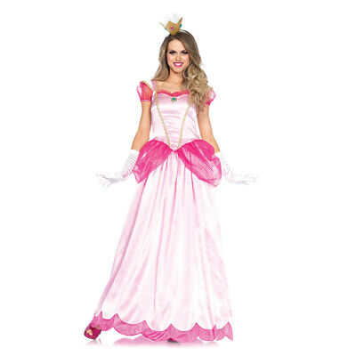 Womens Classic Pink Princess Halloween Costume (Halloween Costumes Pink)