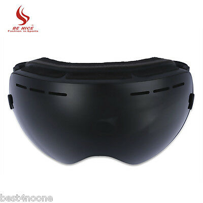 9506f5048d BENICE Double Lens UV400 Big Spherical Skiing Anti-fog Glasses Snow Goggles