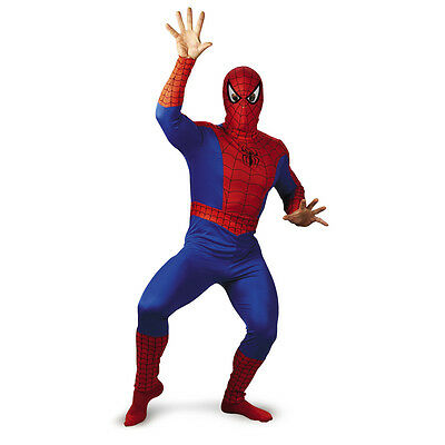 Adult Amazing Spider Man Action Spidey Costume  (Action Costumes)