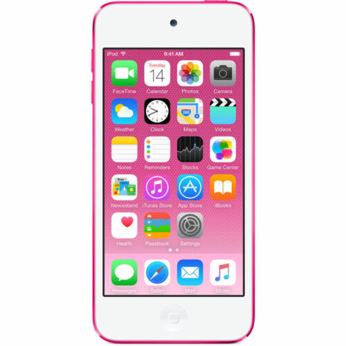 Apple iPod touch 128 GB MP3 Player (6th Generation Latest Model) Pink MKWK2LL/A