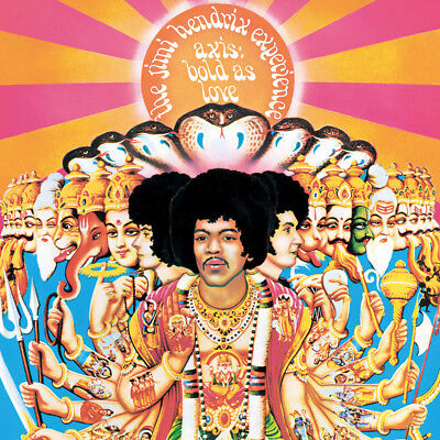 Jimi Hendrix Axis Bold As Love Cover WALL ART CANVAS FRAMED OR POSTER PRINT