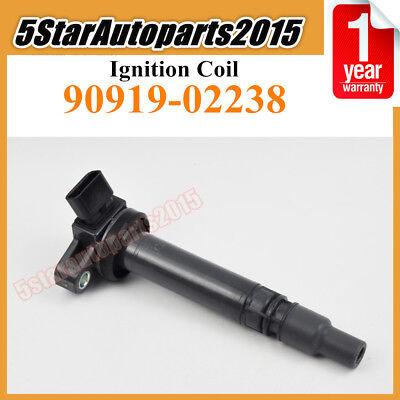New Ignition Coil 90919-02238 For Toyota Celica Corolla Matrix 2003-2007 1.8L L4