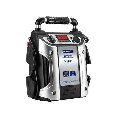 Norauto Booster N1200 Premium Starthilfegerät 4in1, 12V, 19 Ah, max. 1000 A, 1 S