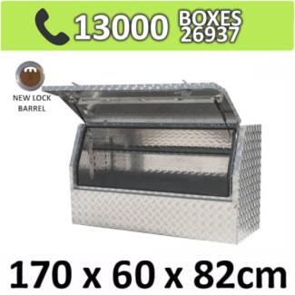 Aluminium Side 3/4 Opening Toolbox Truck Ute Trailer Box 1768HD