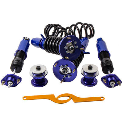 CAC Set of 4 Coilover Suspension Kits For BMW E46 3 Series Absorber Strut Shock for sale  Shipping to Ireland