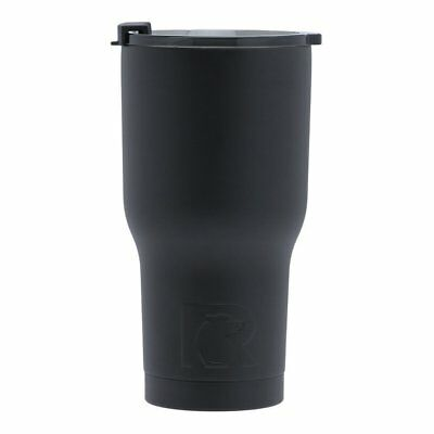 RTIC Double Wall Vacuum Insulated Tumbler, 20 oz, Black