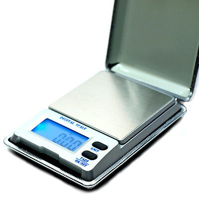 500g x 0.01g Digital Pocket Scale .01g High Precision Gold Jewelry Reloading