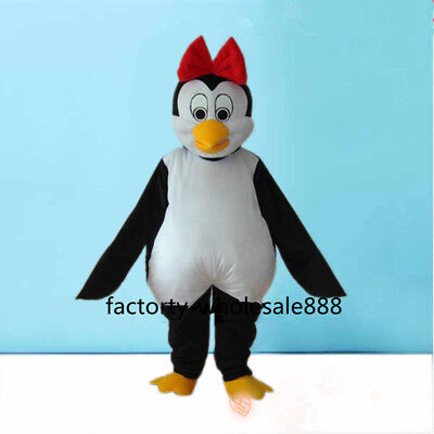 Advertising The Penguin Adult Mascot costume suits Fancy dress Birthday cosplay - The Penguin Costume