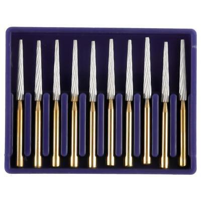 Dental Carbide Bur Orthodontic Debonding Finishing Tapper Fg 8104 Tungsten Steel