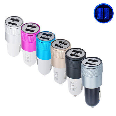 - Port-usb-auto-ladegerät-adapter (Universal Fast 2-Port USB Auto Ladegerät Adapter Für iPhone/7 iPod/Ipad Samsung)