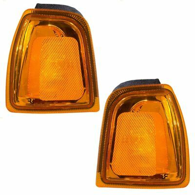 01-05 Ford Ranger Pickup Truck Set of Corner Park Signal Marker - 05 Ford Ranger Corner Light