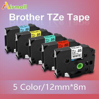 6pk Tz Tze-231 Tze-631 Compatible Brother P-touch Tz-231 Label Tape 12mm Pt-d210