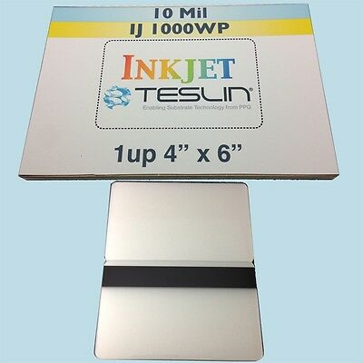 10 ID Card Kit for Inkjet - Includes 1up Teslin & HiCo Butterfly Pouch Laminates