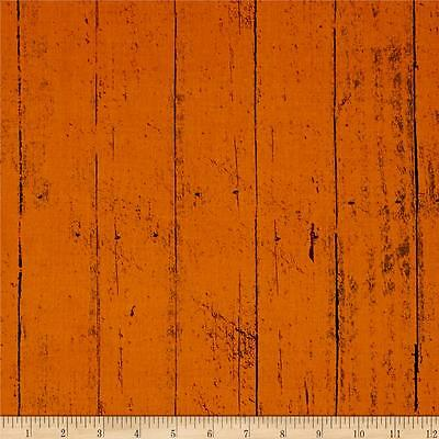 Jeepers Creepers Tonal Wood Plank Orange Primitive Halloween Fabric Cotton](Jeepers Creepers Halloween Fabric)
