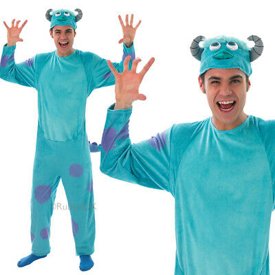 Monsters Inc Sulley Adult Costume (MONSTERS INC SULLEY ADULT COSTUME HALLOWEEN S: STD UNISEX JUMPSUIT ALIEN MEN)