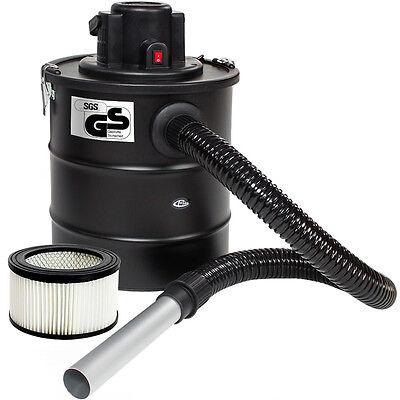 Aschesauger Kaminsauger mit Motor 1200W HEPA Filter Kamin +1 Ersatzfilter