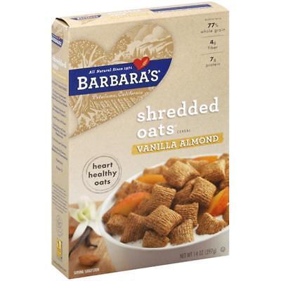 Barbara's Bakery-Vanilla Almond Morning Crunch (6-14 oz boxes)