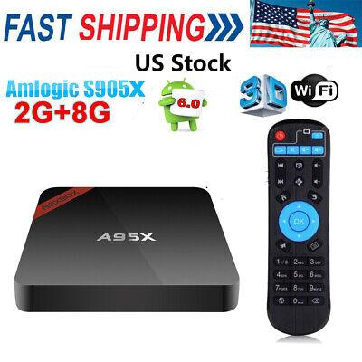 A95X Smart Android6.0  TV Box Amlogic S905X Quad core 64bit 2G+8G 64bit 4K Q3B8