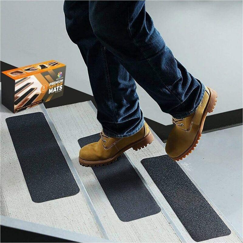 "Anti Slip Tape Grip Strong Adhesive Premium Non-Slip Stair Safety 5 Pcs 6x24"""