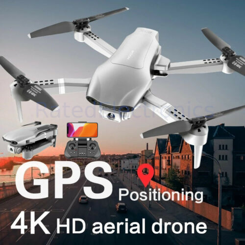 New Foldable Professional F3 Drone GPS 5G WiFi 4k 1080P HD Wide Angle Camera USA