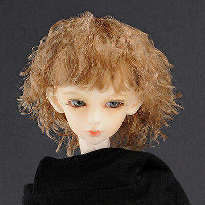"D.Brown /""  MX Blended Mohair Wig 8-9 Dollmore  1//3BJD OOAK Supplier SD wig"