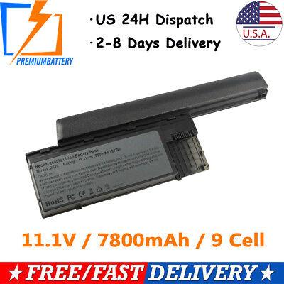 9 Cell Laptop Battery for Dell Latitude D620 D630 D631 D640 PC764 TC030 M2300 P