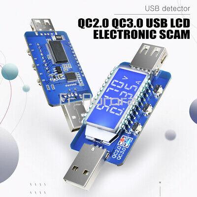 4V~28V USB LCD Display Current Voltage Detector Tester Meter QC2.0 3.0 Trigger 28v Usb